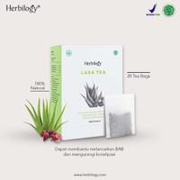 Herbilogy Laxa Tea - Detox & Lancar BAB 20 Kantong Teh