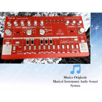 Behringer Analog Bass Line Synthesizer TD3 Red Colour