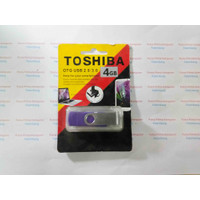 FLASHDISK OTG TOSHIBA 4GB ORIGINAL