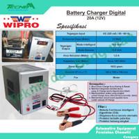 Wipro Battery Charger Digital 20A (12V)