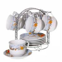 Tea Set Vicenza Cangkir Mewah BA671