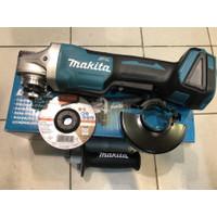 Mesin gurinda cordless makita DGA405Z pedal switch