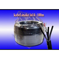 Kabel snake bma 4 channel Original Cable isi 4 audio link 1 roll 100 m