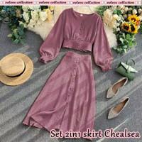 Setelan 2 In 1 Skrit Selly Fashion