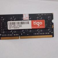 Ram laptop ddr3 2gb pc3 10600 1333mhz Tigo 1.5 volt murah bergaransi