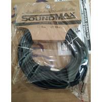 Soundmax Audio Kabel Mic 10 m Original Cable Microphone Sound Terbaik