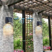 lampu dinding taman 4watt 1arah/LED wall light 4watt outdoor