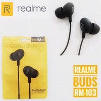 Headset Realme Buds In-Ear Earphone Handsfree Magnetic Original RM103