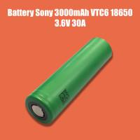 Battery Sony Core 3000mAh VTC6 18650 3.6V 30A