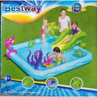 Bestway kolam renang anak fantastic aquarium pool 53052