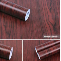 Wallpaper Sticker Triplek Coklat