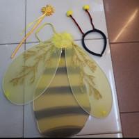 Sayap Lebah Tongkat Bando bahan Stocking Anak