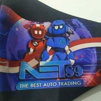 masker kain 2ply net 89 net89 robot full color printing surabaya