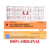 FG TROCHES MEIJI ( 1 Strip Isi 10 Tablet)