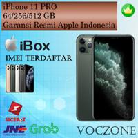 (IBOX) Apple iPhone 11 Pro 512GB - Garansi Resmi iBox Indonesia - Midnight Green