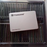 Ssd 256gb bukan 250gb sata Transcend