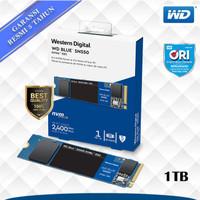 WD SSD Blue SN550 M.2 Pcie Gen3 Nvme 2280 1TB - WDC Blue M2 1 TB