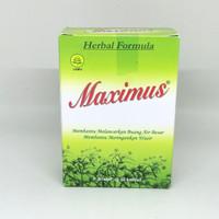 maximus dietary herbal untuk melancarkan BAB perbox ( 3 strp x 10 tab)