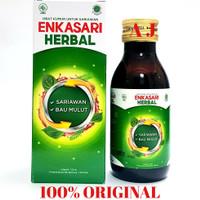 Enkasari Herbal 120ml ~ Obat Kumur Untuk Sariawan dan Bau Mulut