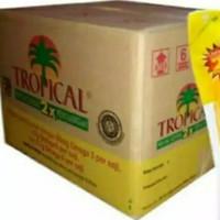 minyak goreng Tropical kemasan 2000 ml perdus isi 6 pcs