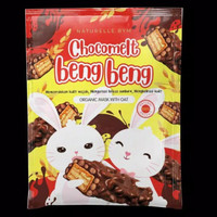 Masker Wajah Organik Beng Beng Chocomelt With Premium Oat 20 gr Viral