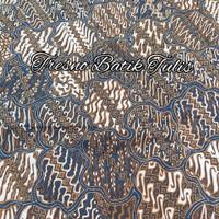 Batik tulis bahan kereta kencana motif sekarjagad isi parang