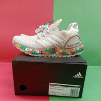 Adidas Ultra Boost 20 Women White Global Currency Sneakers Wanita