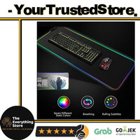 TheEverythingStore Glowing LED High Precision Gaming Mouse Pad Large