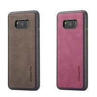 Caseme Original Leather Back Cover Case Samsung Galaxy S8 plus S8+