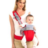 Gendongan bayi depan baby Sling babypack multifungsi - Merah