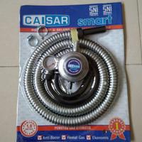 SELANG GAS PAKET REGULATOR + METER CAISAR