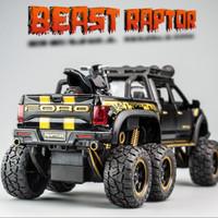 Diecast miniatur mobil Ford Raptor F150 1:32 kualitas premium