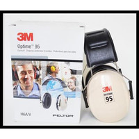 3M Peltor Optime 95 Over the Head Earmuff H6A - Hearing Protection
