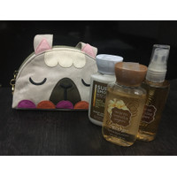Bath and Body Works Warm Vanilla Sugar Travel Size Gift Set