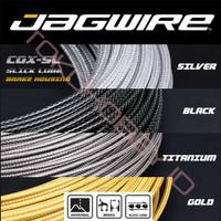 Kabel Luar Rem Sepeda Outer Housing Carbon Kevlar Slick Jagwire CGX SL - Gold Metal