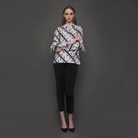 Belinda Blouse wanita Batik Parang Klasik Kencana Pajajaran - S