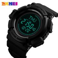 SKMEI Jam Tangan Kompas Digital Pria - 1300 - Black
