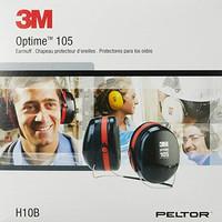 3M™ PELTOR™ Optime™ 105 Earmuffs H10B, Behind-the-Head