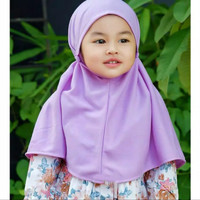 Maryam Bergo Kids Tasya Diamond Kidszy fashion Anak Muslim Terbaru