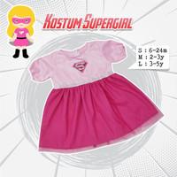 Kostum Supergirl Anak | Dress Kostum | Kostum Karakter Anak