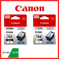 1Set Paket Catridge Tinta Canon PG-745 s + CL-746 s Original