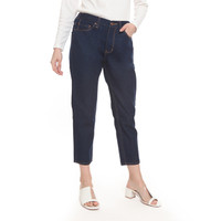 2nd RED Mom Jeans in Blue Black 242001