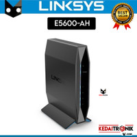 Linksys E5600-AH Router AC1200 Wifi Dual Band 2.4GHz + 5GHz Ethernet