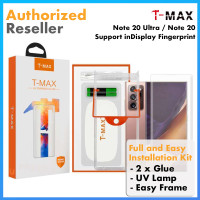 Original TMAX T-MAX Full Tempered Glass Samsung Note 20 Ultra / Note20