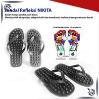 Nikita Sandal Jepit Kesehatan / Sandal Refleksi / Sandal Terapi