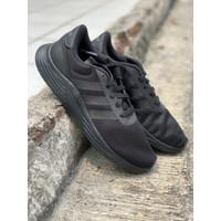 sepatu running Adidas Original LITE RACER 2.0 Allblack new 2020