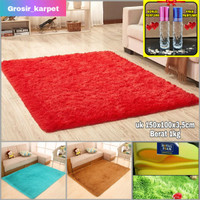 karpet matras bulu uk 150x100x3cm