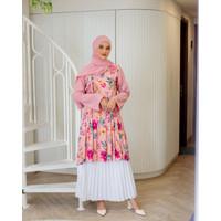 Tunik Hanbok Magnolia Pink Frosting Original By DRESSSOFIA