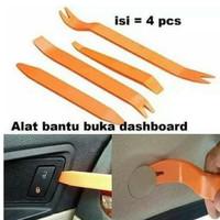 4pcs Alat Pembuka Mobil Panel Audio Interior Clip Congkel Dashboard