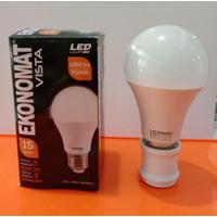 Lampu LED Ekonomat Vista Bohlam Led 15 Watt